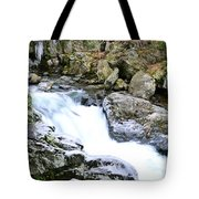 Ice And Moss Tote Bag