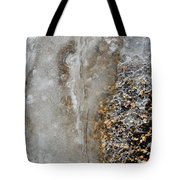Ice And The Beach  Tote Bag