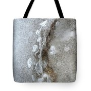 Ice And The Beach Three  Tote Bag
