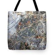Ice Art Iv Tote Bag