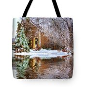 Ice Attack - Paint Tote Bag