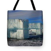 Ice Blocks Tote Bag
