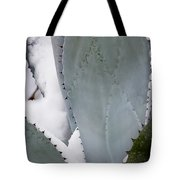 Ice Blue Agave Tote Bag