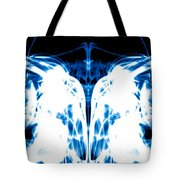 Ice Blue Tote Bag by Sumit Mehndiratta