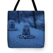 Ice Bolts Tote Bag