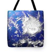 Ice Burst Tote Bag
