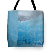 Ice Castles In Lincoln New Hampshire -1 Tote Bag