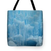 Ice Castles In Lincoln New Hampshire -2 Tote Bag