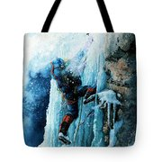 Ice Climb Tote Bag by Hanne Lore Koehler