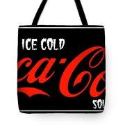 Ice Cold Coke 8 Coca Cola Art Tote Bag