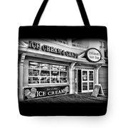 Ice Cream And Candy Shop At The Boardwalk - Jersey Shore Tote Bag