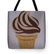 Ice Cream Emoji Tote Bag