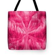 Ice Crystal Angel - Pink Tote Bag