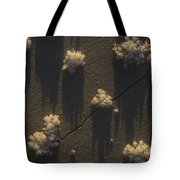 Ice Crystals Form On Overflow Tote Bag