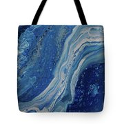 Ice Currents Tote Bag