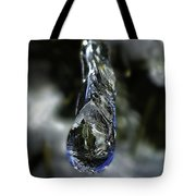 Ice Drop Tote Bag