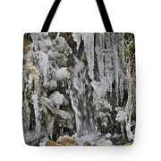 Ice Droplets  Tote Bag