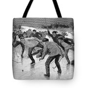 Ice Hockey, 1898 Tote Bag by Granger