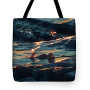 Ice In The Light 2  Tote Bag