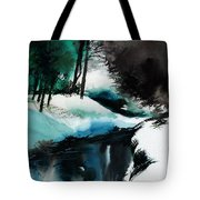 Ice Land Tote Bag