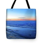 Ice On The Lake Two  Tote Bag