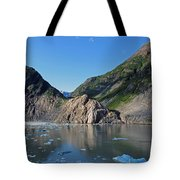 Ice On The Water Tote Bag
