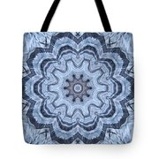 Ice Patterns Snowflake Tote Bag