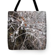 Ice Pearls Tote Bag