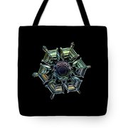 Ice Relief, Black Version Tote Bag by Alexey Kljatov