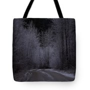 Ice Road Tote Bag