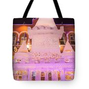 The Annual Ice Sculpting Festival In The Colorado Rockies, The Castle With A Parapet Tote Bag