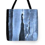 Ice Sculpture Tote Bag