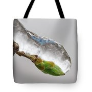 Ice Storm Buds Tote Bag