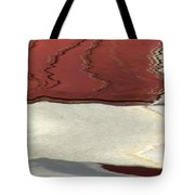 Ice To Earth Abstract Tote Bag