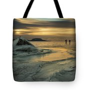 Ice Trail Hikers Tote Bag