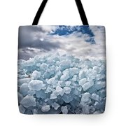 Ice Wall Tote Bag