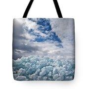 Ice Wall II Tote Bag