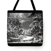 Ice Water Tote Bag