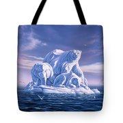 Icebeargs Tote Bag by Jerry LoFaro