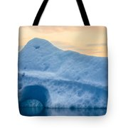 Iceberg On The Jokulsarlon Glacial Tote Bag