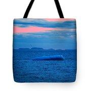 Iceberg Sunset Tote Bag