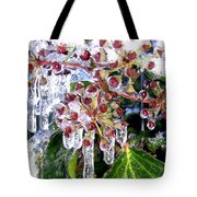 Iced Ivy Tote Bag