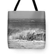Iceland Black Sand Beach Wave One  Tote Bag