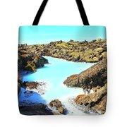 Iceland Blue Lagoon Healing Waters Tote Bag