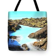 Iceland Blue Lagoon Healing Waters Tote Bag