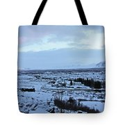 Iceland Country Side Clouds Mountains Stream Iceland Rocks Lake Clouds Iceland 2 2112018 0971 Tote Bag