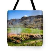 Iceland Landscape Panorama Wonderful Colors Tote Bag