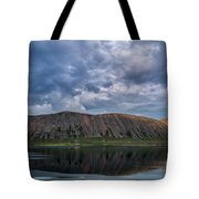 Iceland Mountain Reflections  Tote Bag