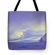 Iceland Sunrise Glacier Lava Field Sunrise Mountains Clouds Iceland 2 2122018 1882.jpg Tote Bag