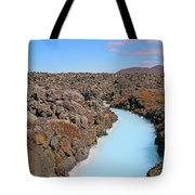 Iceland Tranquil Blue Lagoon  Tote Bag